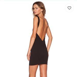 Solace London black mini dress. NWT